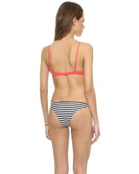 Mikoh Swimwear | Red Belize Bikini Top - Fiji | Lyst