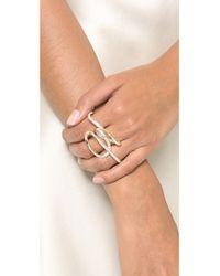 Jenny Packham | Metallic Scenic Ring | Lyst
