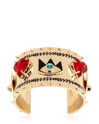 Maria Francesca Pepe - Multicolor Graffiti Cuff Bracelet - Lyst
