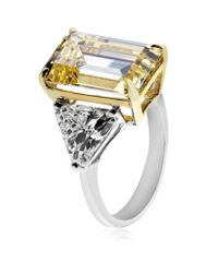 Carat* | Metallic Yellow Trilogy Ring | Lyst