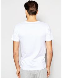 SELECTED | White Selected 2 Pack Regular Fit T-shirts for Men | Lyst