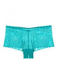 Cosabella - Blue Minoa Naughtie Hotpant - Lyst