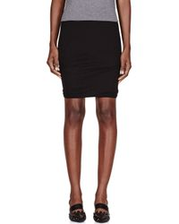 T By Alexander Wang - Blue Twisted Stripe Knitted Miniskirt - Lyst