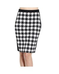 MICHAEL Michael Kors | Black Michael Kors Women's Skirts | Lyst