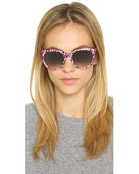 Peter & May Walk | Pink Fora Diving Sunglasses | Lyst