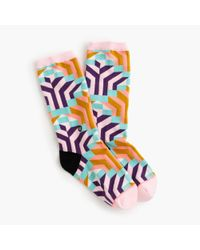 J.Crew | Multicolor Stance Trouser Socks | Lyst