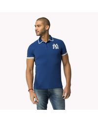 Tommy Hilfiger | Blue Organic Cotton Polo for Men | Lyst