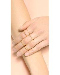 Gorjana | Metallic Mixed Size Simple Ring Set | Lyst