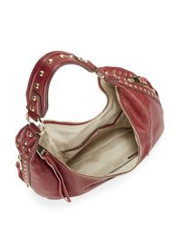 Aimee Kestenberg | Red Jetta Pebbled Leather Hobo Bag | Lyst
