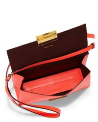 Stella McCartney - Pink Mini Beckett Crossbody Bag - Lyst