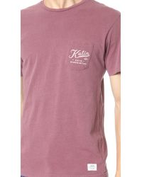 Katin | Red Service Tee for Men | Lyst