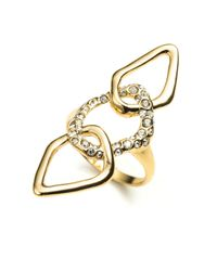 Alexis Bittar - Metallic Kinetic Gold Encrusted Link Ring You Might Also Like - Lyst