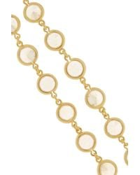 Kenneth Jay Lane | Metallic Gold-tone Crystal Necklace | Lyst