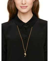kate spade new york | Natural Zodiac Spirit Animals Snake Pendant | Lyst