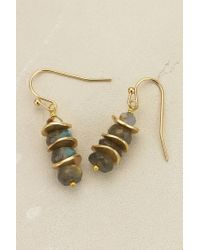 Anthropologie | Blue Pagoda Earrings | Lyst