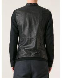 Lost & Found - Black Lambskin Jacket for Men - Lyst
