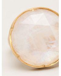 Irene Neuwirth - Metallic Moonstone Ring - Lyst