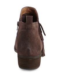 Lucky Brand - Brown Java Bora Fringe Boots - Lyst