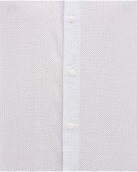 Zara   White Printed Shirt for Men   Lyst