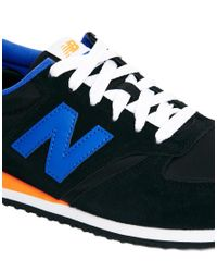 New Balance - Black 420 Trainers for Men - Lyst