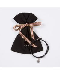 Paul Smith - Men's Black Sterling Silver 'peace' Charm Bracelet for Men - Lyst