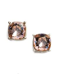 St. John | Pink Swarovski Crystal Earrings | Lyst