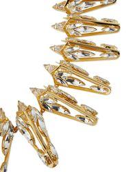 Auden | Metallic Prism Crystal Collar Necklace | Lyst