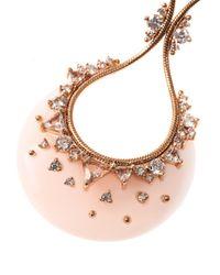 Fernando Jorge - Pink Diamond Topaz Opal Gold Earrings - Lyst