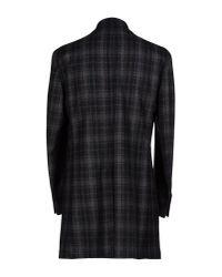 Luigi Bianchi Mantova Gray Coat for men