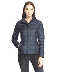 Burberry Brit | Blue Dalebury Quilted Jacket | Lyst