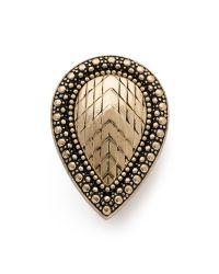 Samantha Wills | Metallic Bohemian Bardot Armour Ring - Antique Gold | Lyst