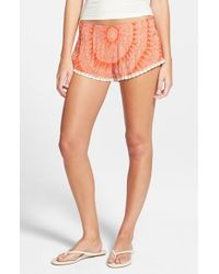 Rip Curl - Orange 'sundial' Shorts - Lyst