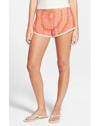 Rip Curl | Orange 'sundial' Shorts | Lyst