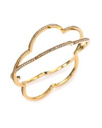 Marc By Marc Jacobs - Metallic Revolving Daisy Bangle Bracelet - Lyst