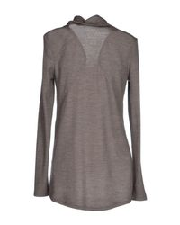Helmut Lang - Gray T-Shirt - Lyst