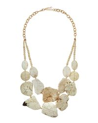 Panacea | White Howlite Double-Strand Statement Necklace for Men | Lyst