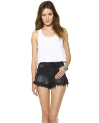 House of Harlow 1960 | White Sunny Tank Top  | Lyst