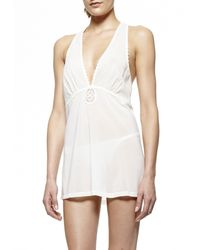 La Perla | Natural Baby Doll With G-string | Lyst