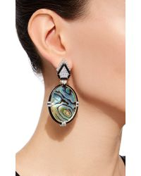 David Webb - Multicolor Couture Iridescence Earrings - Lyst