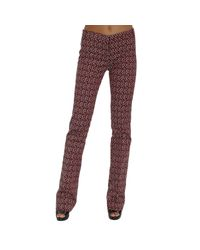 Pinko | Purple Trouser | Lyst