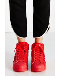 Adidas - Red Mono Pro Model Sneaker - Lyst