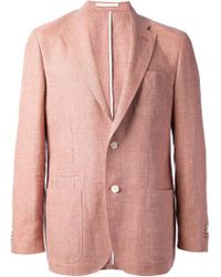 Corneliani - Red Two Button Blazer for Men - Lyst