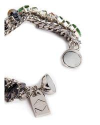 Assad Mounser | Multicolor 'alphard' Swarovski Crystal Bracelet | Lyst