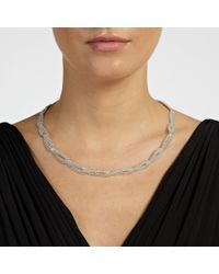 John Lewis | Metallic Entwined Chain Necklace | Lyst