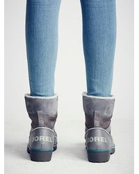 Free People - Gray Tivoli Ii Weather Boot - Lyst