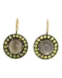 Andrea Fohrman | Metallic Kat Moonstone Earring | Lyst