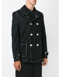 Comme des Garçons - Black Double Breasted Blazer for Men - Lyst