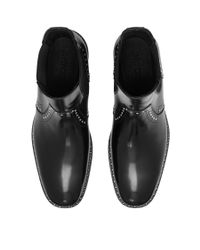 Jimmy Choo - Fergus Black Shiny Calf Leather Boots for Men - Lyst
