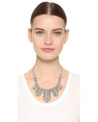 DANNIJO | Metallic Duchess Necklace | Lyst
