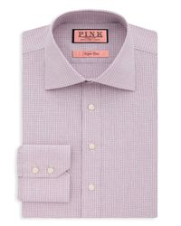 Thomas Pink | Pink Hesling Texture Dress Shirt - Regular Fit for Men | Lyst